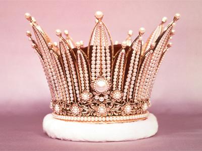 Cherry Blossom Festival Crown, 1957