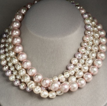 Majorica imitation pearls
