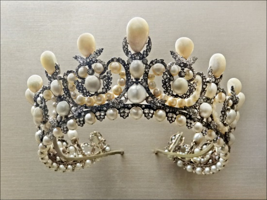 Diadem belonging to Empress Eugenie