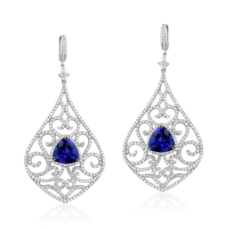 yael designs pacifica tanzanite baroness