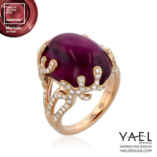 rubelite ring